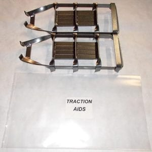 Extra heavy duty traction aids