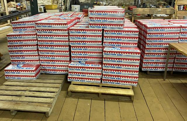 Traction Aids® Ready to Ship!